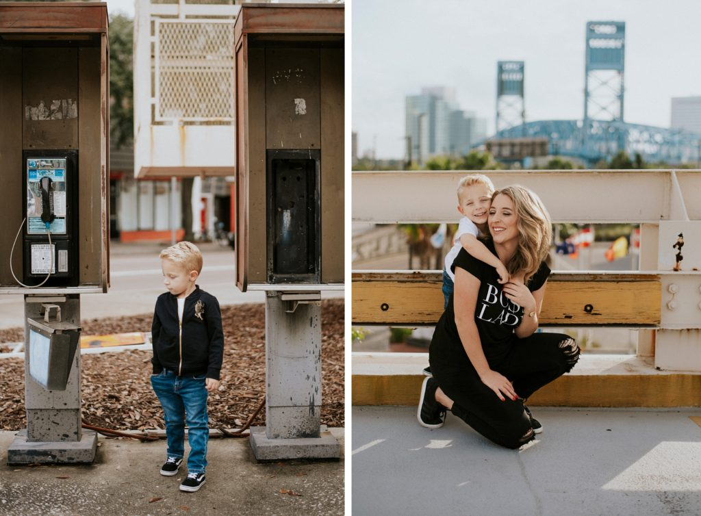 Urban Family Photos in Jacksonville, FL - Stephanie Acar