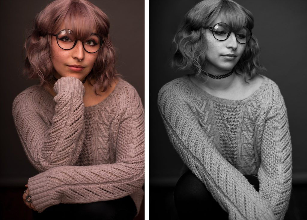 Contemporary Portraits - not 80's Glamour Shots! | Stephanie Acar Portraits